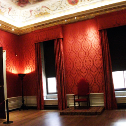 """Interior of the magnificent """"Kensington Palace"""""""
