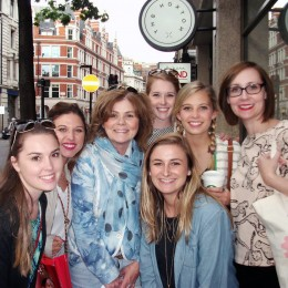 London Fashion Tour with students from USA
