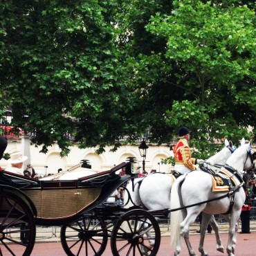Trooping of the Colour – The Mall, London, June 13th June 2015 – With Queen