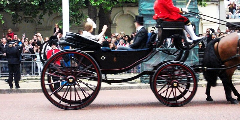 Trooping of the Colour – The Mall, London, June 13th June 2015 , close Up
