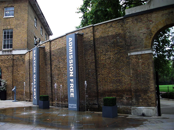 Saatchi Gallery London, Free Entrance