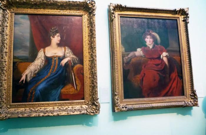 Caroline of Brunswick  and Princess Charlotte of Wales