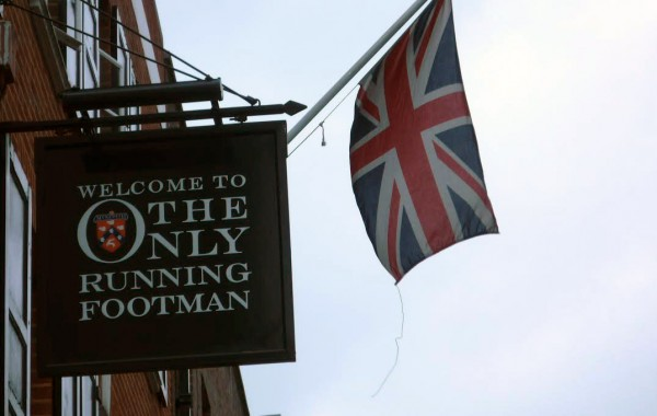 The Only Running Footman Pub