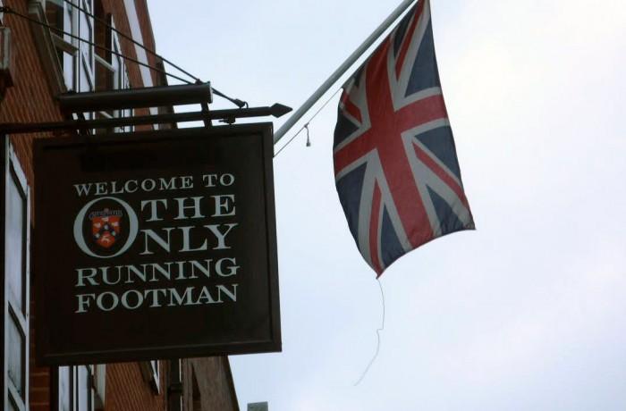 The Only Running Footman Pub