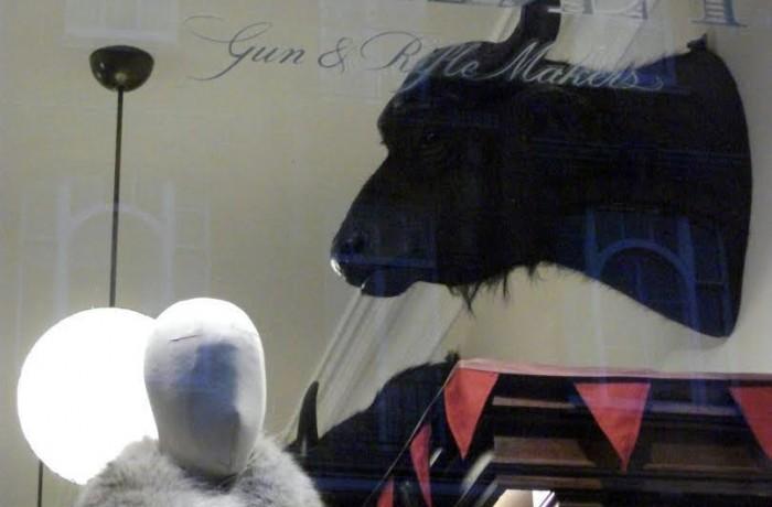 London Fashion – Purdey Shop Front