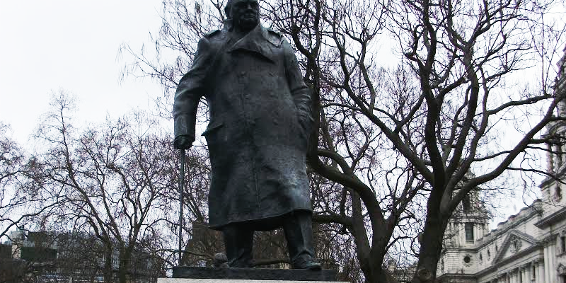 Staue of Winston Churchill