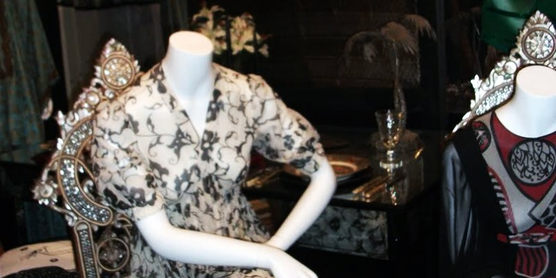 Thea Porter at the Fashion & textlie Museum in London – Dress 4