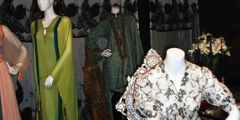 Thea Porter at the Fashion & textlie Museum in London – Dress 3
