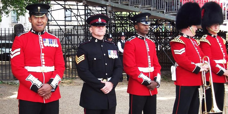 Royal Guard, Queen's Birthday Celebrations, rehearsals